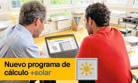 """Nuevo programa de cálculo """"+solar"""" de Junkers para profesionales"""