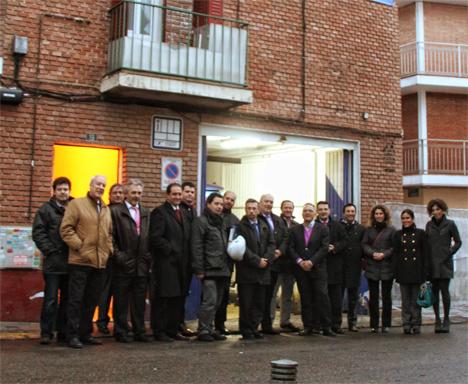 Las obras de rehabilitación del proyecto PREI de ANERR son inauguradas por el Director General de Industria, Energía y Minas de la Comunidad de Madrid