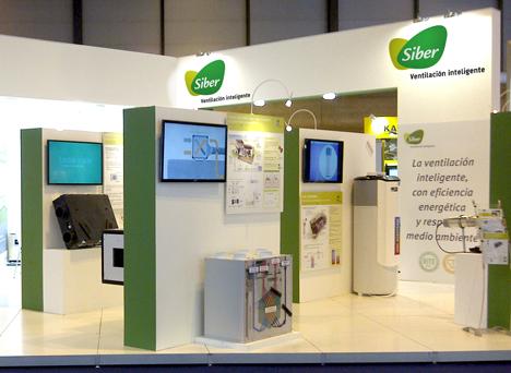 Siber Ventilación estuvo presente en Climatización 2013