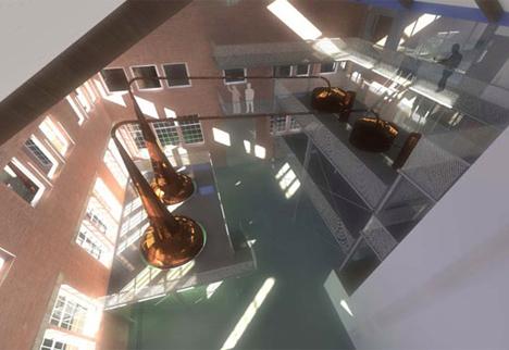 """Nuevas instalaciones de la destilería Bombay Sapphire logran la calificación de BREEAM """"Sobresaliente"""" para su etapa de diseño"""