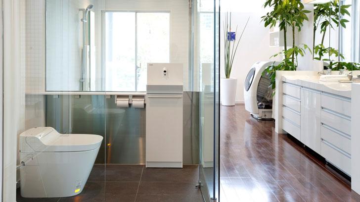 Smart House, baño
