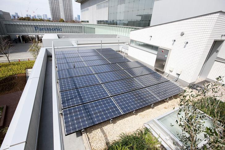 Smart House, paneles solares