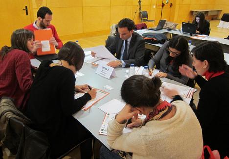 I Workshop de Edificios de Energía Casi Nula, Mesa 8