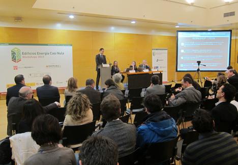 I Workshop de Edificios de Energía Casi Nula, intervención de Santiago Díez, Director Comercial en IFEMA