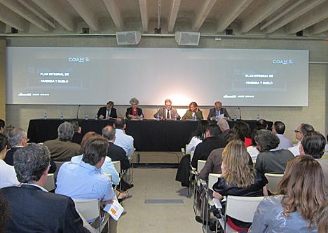 Jornada COAM: Rehabilitación, regeneración y renovación urbana