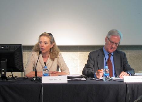 Jornada COAM, Angela de la Cruz y Luis Vega