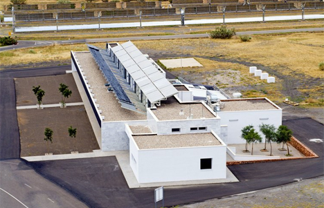 Edificio ARFRISOL en la PSA