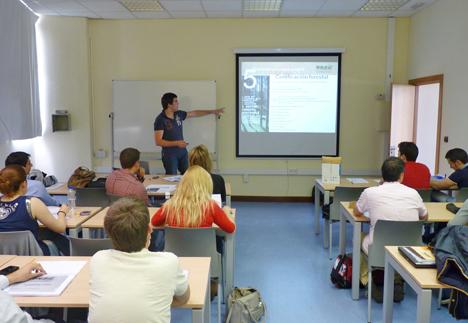 """esa Intersectorial de la Madera de Euskadi dentro del master profesional de la UPV-EHU """"Ingeniería de la Construcción"""