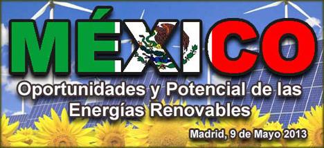 Jornada Energías renovables en Méxixo organizada por Saypower