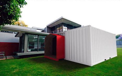 Evobox, vivienda modular a partir de contenedores marítimos