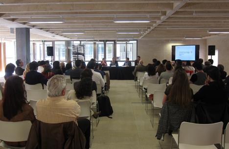 Presentación del Concurso Internacional de Ideas para la Rehabilitación del Antiguo Almacén 5 de la fábrica de Villalunega de la Sagra de Lafarge