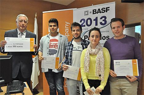El secretario autonómico de la Comunidad Valenciana de Infraestructuras preside la entrega de los Premios BASF