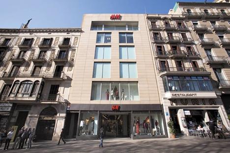 Tienda H&M Barcelona