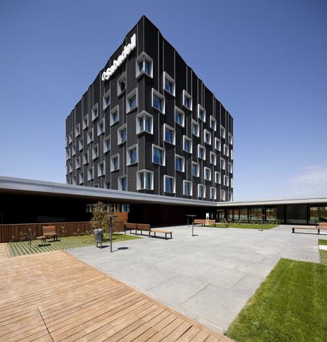 Nueva sede banco sabadell construible - Banco sabadell oficina central ...