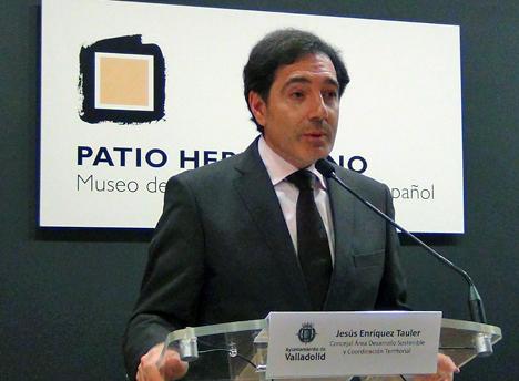 Jesús Enríquez Taulez Concejal del área de Desarrollo Sostenible y Coordinación Territorial del Ayuntamiento de Valladolid