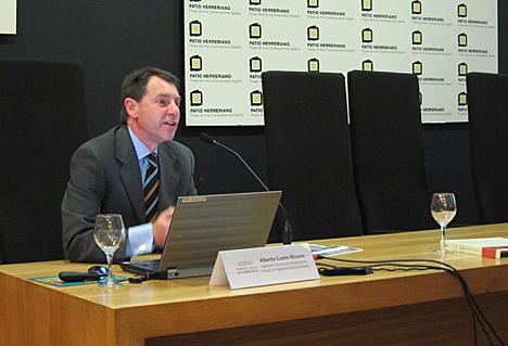Alberto Cueto, Ingeniero de la empresa ADING