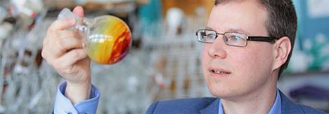 Morten Nielsen Brønsted, catedrático en el Departamento de Química de la Universidad de Copenhague
