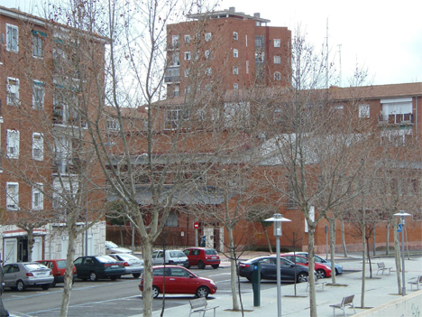 El barrio Cuatro de Marzo de Valladolid