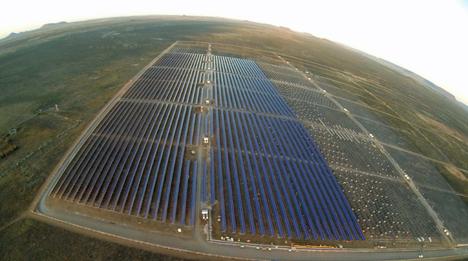Centrale fotovoltaica en Sudáfrica
