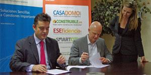 Firma del acuerdo de colaboración entre ITH y GRUPO TECMA RED