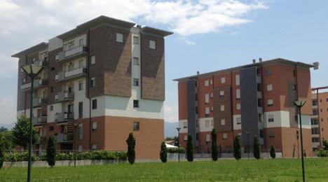 Prato, Italia: Dos bloques con un total de 36 pisos y más de 90 inquilinos, participantes en el proyecto ENCERTICUS