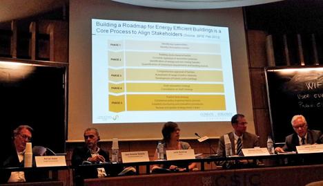 Reunión de trabajo sobre el desarrollo de la Directiva de Eficiencia Energética en Edificios (EPBD) y la Directiva de Eficiencia Energética (EED), organizada en Madrid por la entidad española GTR y la europea EuroACE