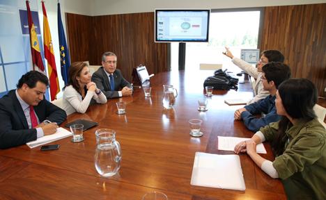Plateau Team reunida con la Consejería de Fomento de Castilla-La Mancha