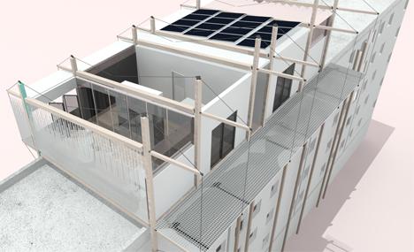 Symbcity es el proyecto que Plateau Team, de las Universidades de Alcalá de Henares y de Castilla la Mancha, construirá en el Solar Decathlon 2014 Francia