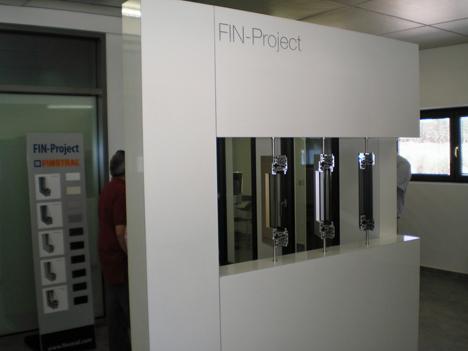 Finstral inaugura el nuevo espacio FIN-Project para mostrar sus sistemas de puertas y ventanas de aluminio