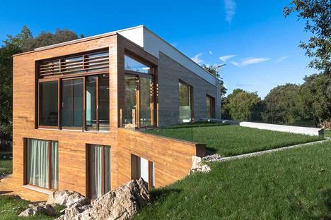 sistema Zehnder Comfosystems en la casa asturiana EntreEncinas