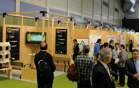 Los stands modulares de esta 8ª edición estarán construidos con madera de la Marca de Garantía de Calidad Pino Soria Burgos