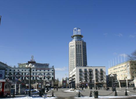 Imagen de la Torre Söder en la actualidad
