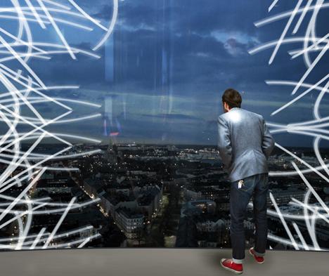 mirador en la nueva torre