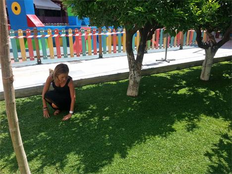La concejala de Medio Ambiente del Ayuntamiento de Murcia, Adela Martínez-Cachá, ha visitado recientemente el Jardín de San Antonio
