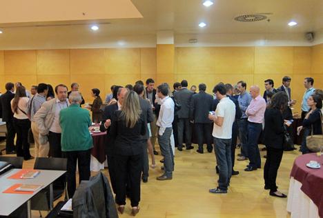 Cóctel en el II Workshop de Edificios de Energía Casi Nula