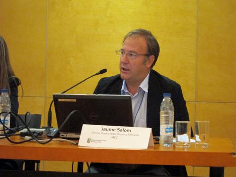 Jaume Salom, Director del Grupo de Energía Térmica y Edificación del IREC