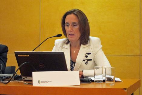 Rocío Báguena Rodríguez, Jefa Área Gestión I+D+i. Subdirección. Gral. Arquitectura y Edificación. Dirección General Arquitectura, Vivienda y Suelo