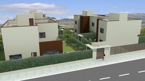 Las Lomas de Tempranales, un conjunto de cinco viviendas, sostenibles y responsables con el medioambiente