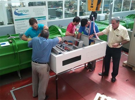La Unidad de Ingeniería eléctrica del Departamento de Tecnología del CIEMAT concluyó, a finales de julio, los trabajos de la fase de laboratorio del proyecto UNDIGEN