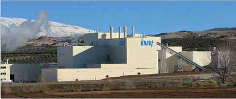 Fábrica Knauf de Escuzar (Granada)