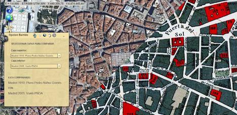 Plataforma HISDI-MAD y de acceso libre en internet, permite ver la evolución urbanística y demográfica de la capital desde 1860 hasta la actualidad