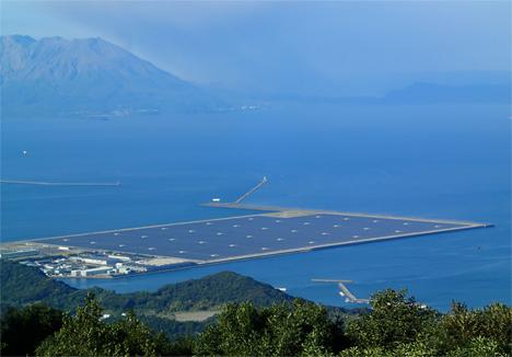 Kagoshima, una ciudad del sur de Japón, ha inaugurado oficialmente la mayor central fotovoltaica del país