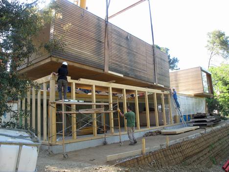 Construcción del edificio demostrativo del proyecto demostrativo LIMA (Low Impact Mediterranean Architecture)