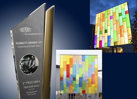 Trifluor gana el segundo premio en los DuPont Plunkett Awards 2013