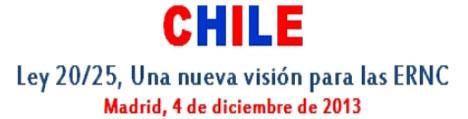 Jornada sobre energías renovables en Chile