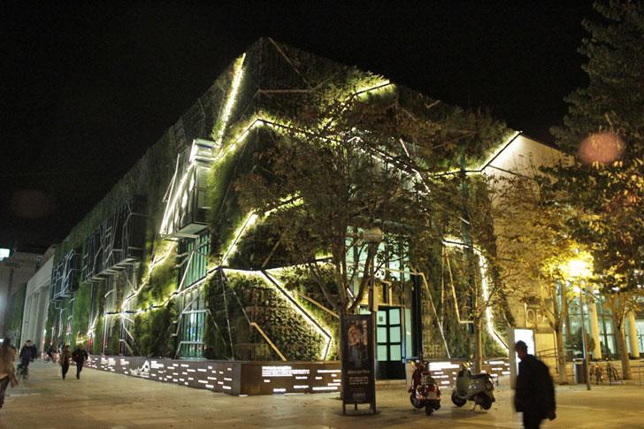 Palacio de Congresos Europa noche