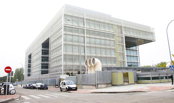 Dise o arquitect nico sostenible en la sede de banco for Banco popular bilbao oficinas