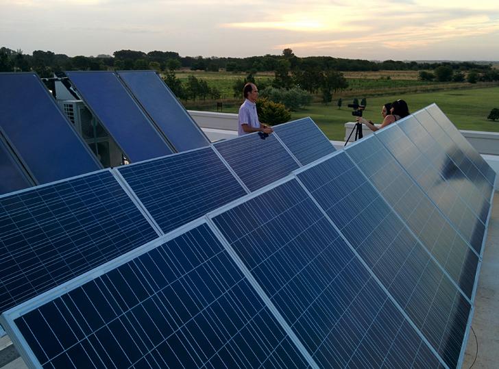 casa g paneles solares
