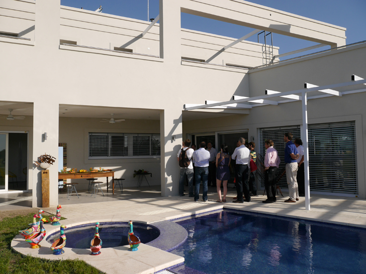 casa g piscina inauguracion