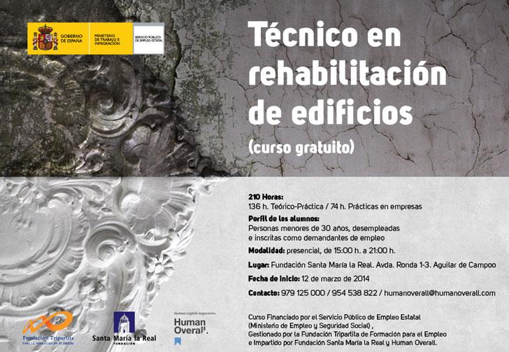 Curso Gratuito De Tecnico En Rehabilitacion De Edificios En Palencia Construible